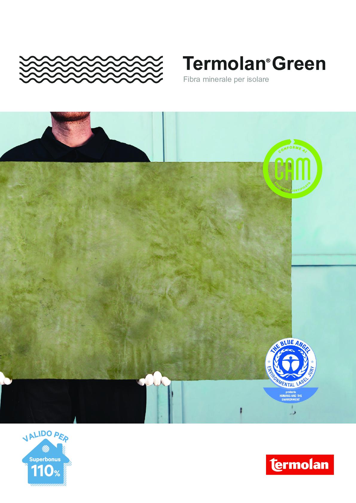 Termolan Green brochure