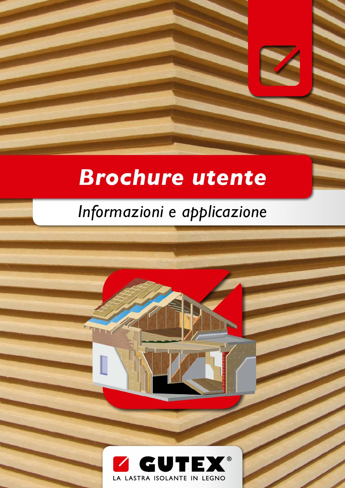 Gutex Brochure di Gamma