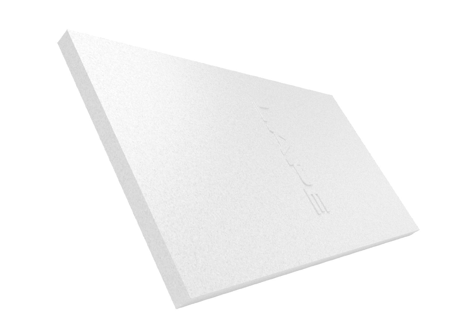 LAPE storia: lastra bianca stampata